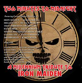 Iron Maiden tribute album cover art